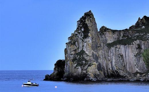 威尔士skrinkle cliff