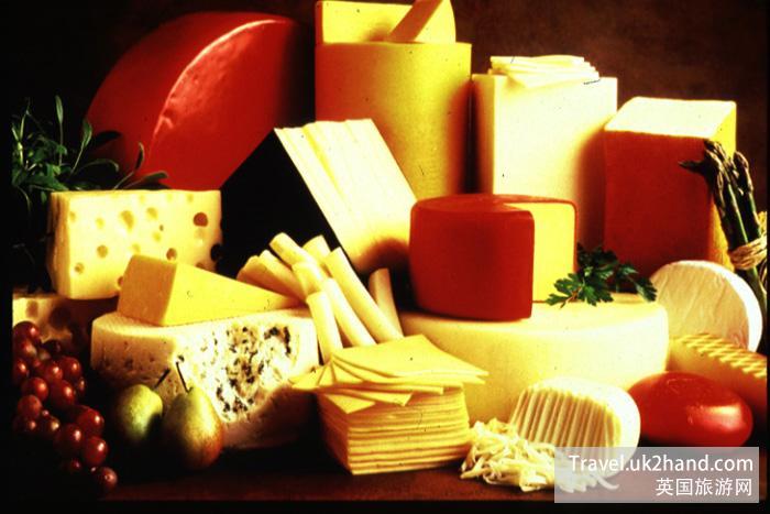 英国的奶酪 奶制品
