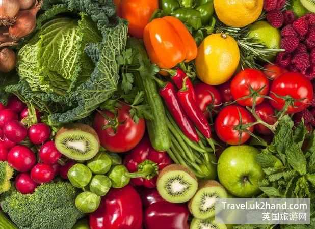 英国的蔬果