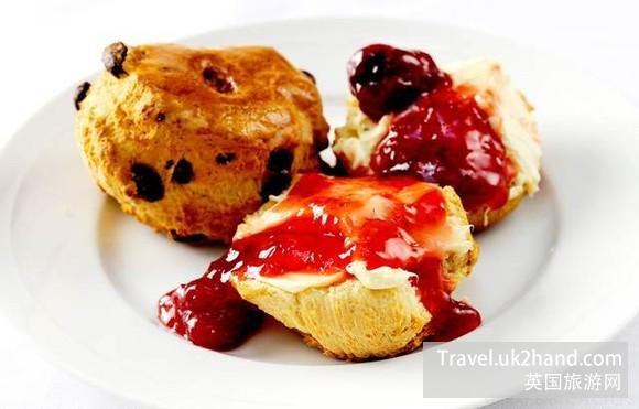 scone 英国甜点