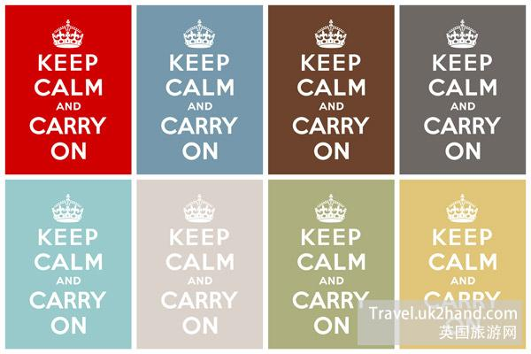 keep calm and carry on 的出处