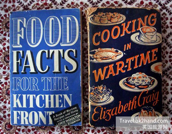 《为厨房前线准备的食物资料——战时菜谱和小贴士》和《战时烹饪指南》