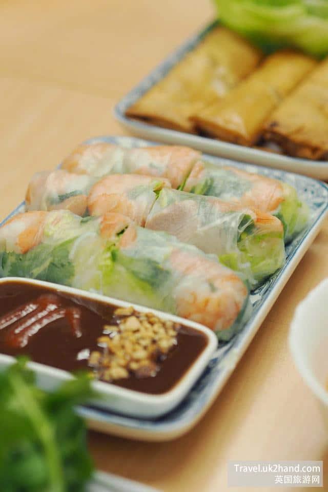 除了河粉,Mama Pho家的春卷以及别的越南小吃都非常新鲜正宗,值得一试。
