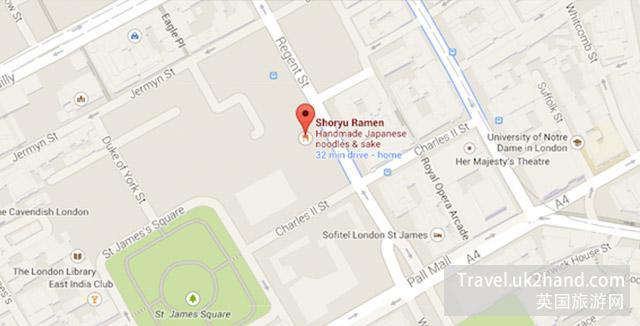 伦敦南岸艺术区地图