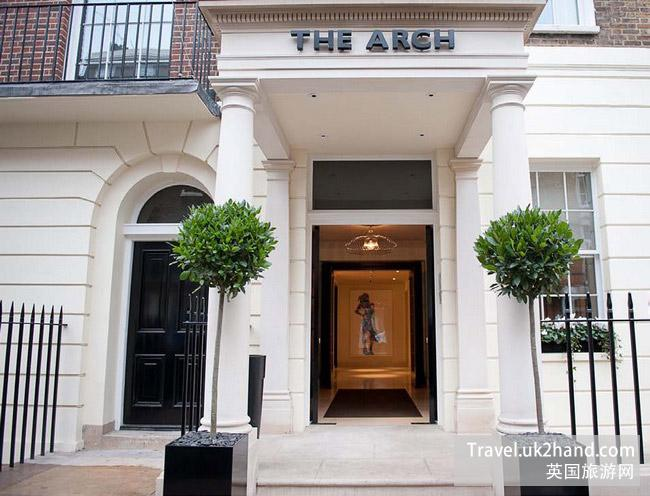 Arch London的设计风格受伦敦当地的艺术所启发