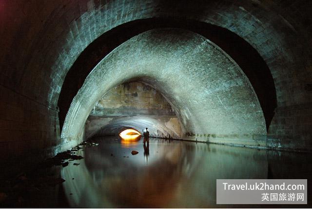 伦敦的地下河道美轮美奂