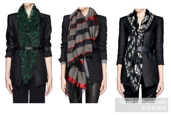 围巾的选择