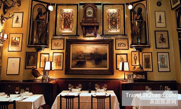 伦敦最古老的餐馆:RULES