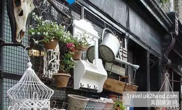 伦敦花市附近的小店