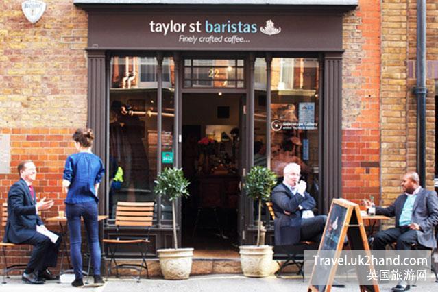 伦敦的咖啡馆
