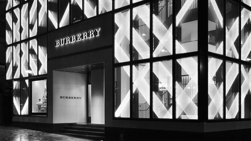 burberry 门店