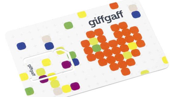 giffgaff 电话卡