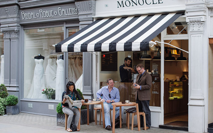 The Monocle Café