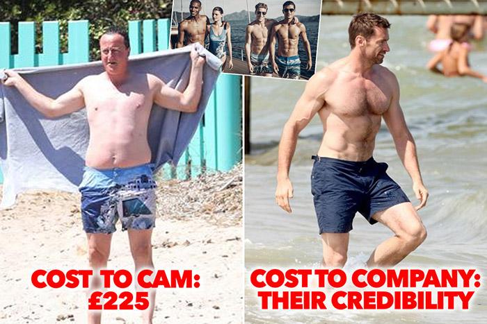 1条200英镑的泳裤