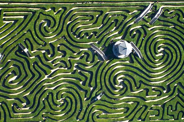 Longleat Safari Park maze, Wiltshire
