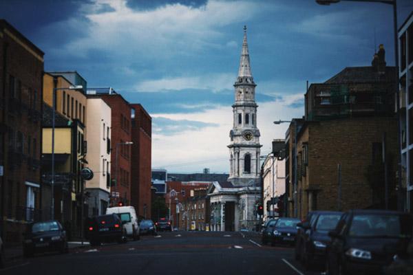 都柏林的古建筑