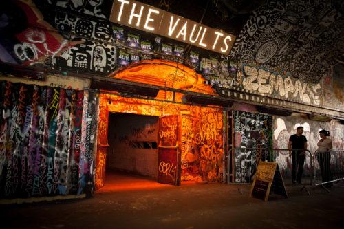 伦敦地下剧院The Vaults