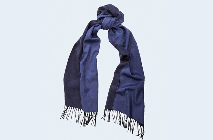 Begg & Co Arran Reversible Cashmere