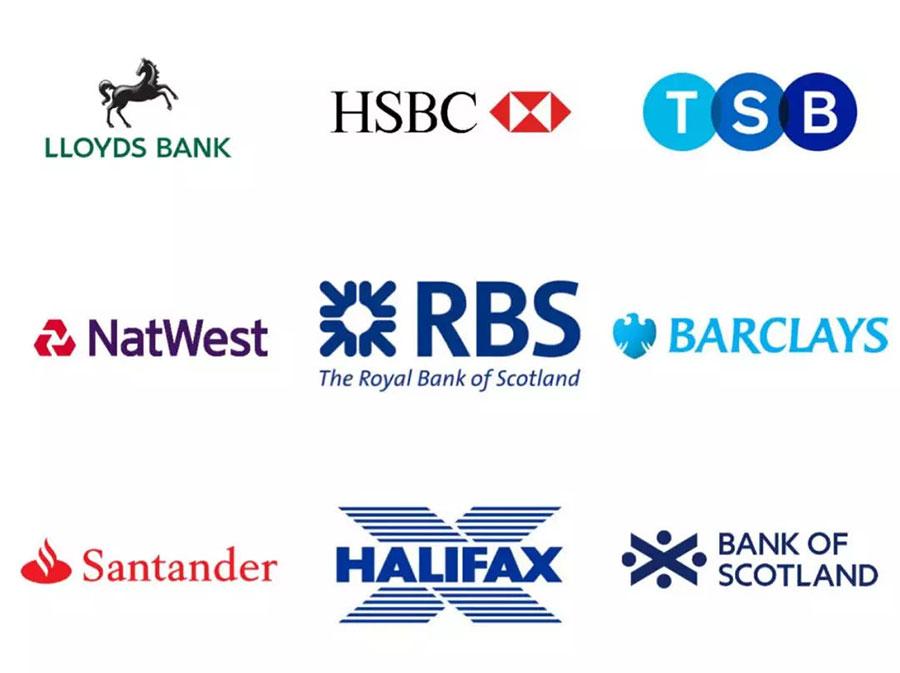 英国主要银行品牌
