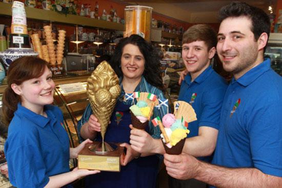 Broughty Ferry 冰淇淋店