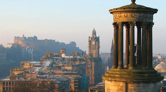 遥望 爱丁堡 Edinburgh