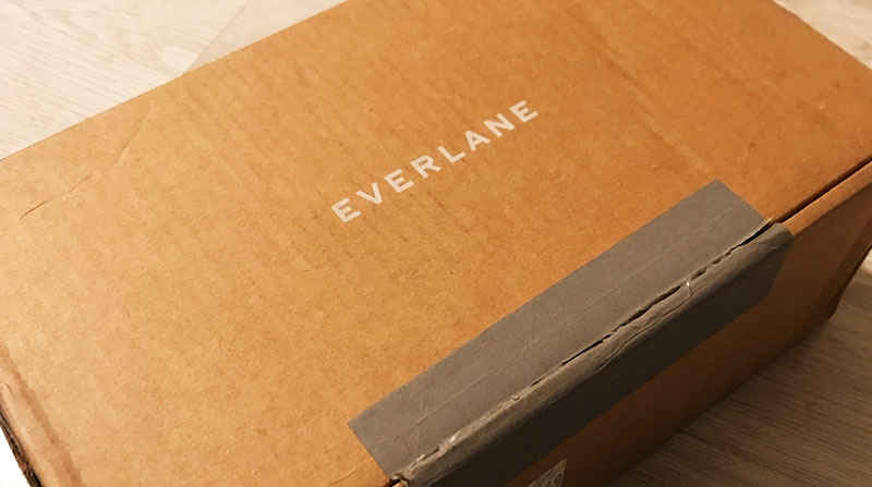 Everlane快递到英国了