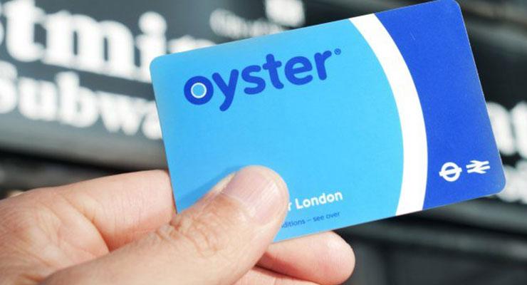 伦敦地铁卡 Oyster card