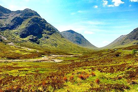 苏格兰高地的春天