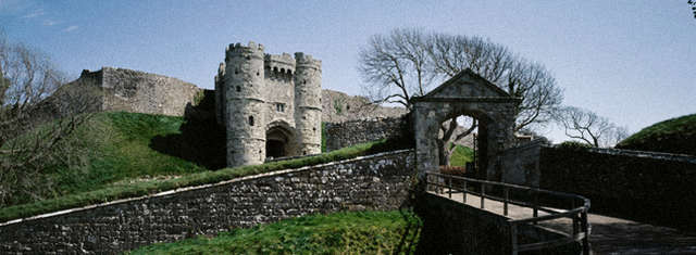 Carisbrooke castle 怀特岛