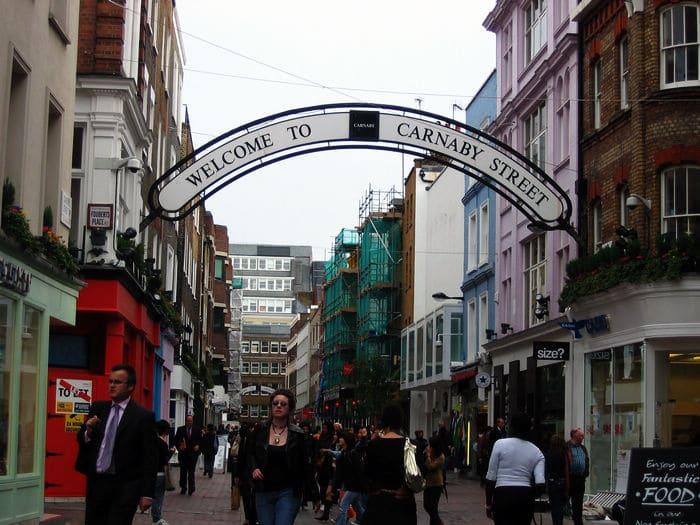 据伦敦购物