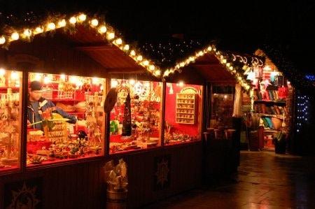 伦敦圣诞集市