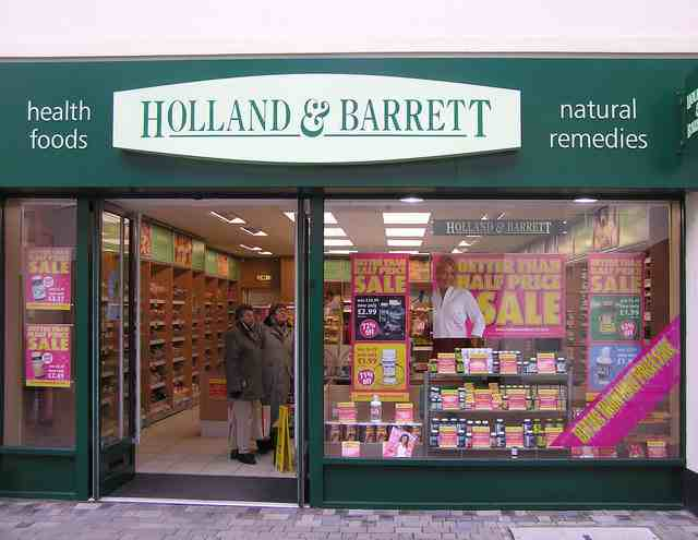 英国 HOLLAND_and_BARRETT