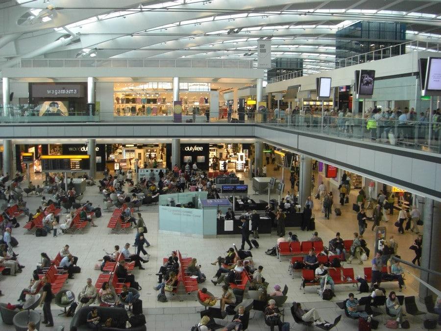 伦敦希思罗机场退税