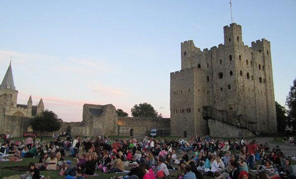 Rochester-Castle kent 露天影院