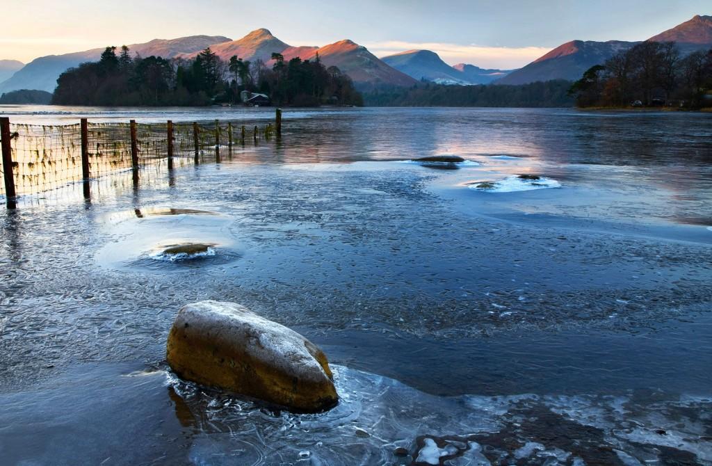 英国湖区 冬天
