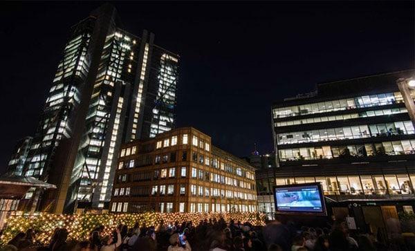 The Rooftop Film Club, London 露天电影院