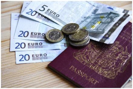 英国去欧洲旅行换欧元