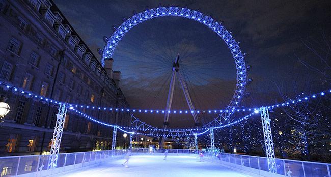 伦敦眼滑冰场