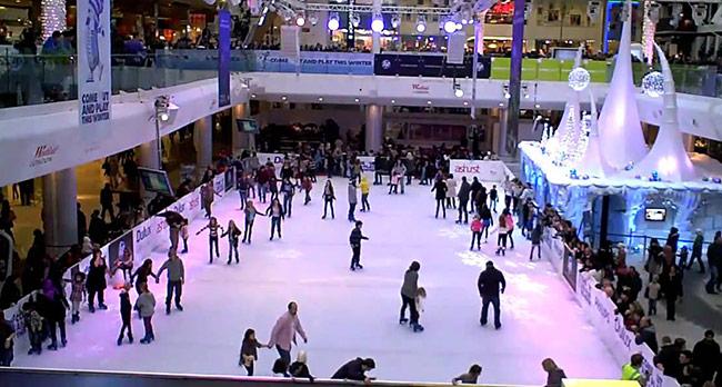 Westfield 滑冰