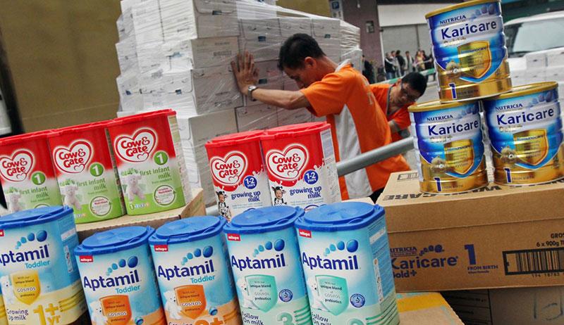 奶粉限购_英国奶粉限购政策:每人仅能购2罐 - 英国旅行留学网