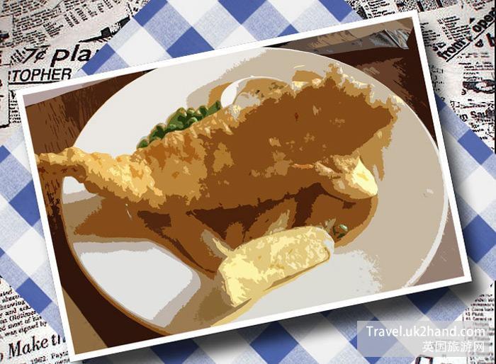 炸鱼和薯条