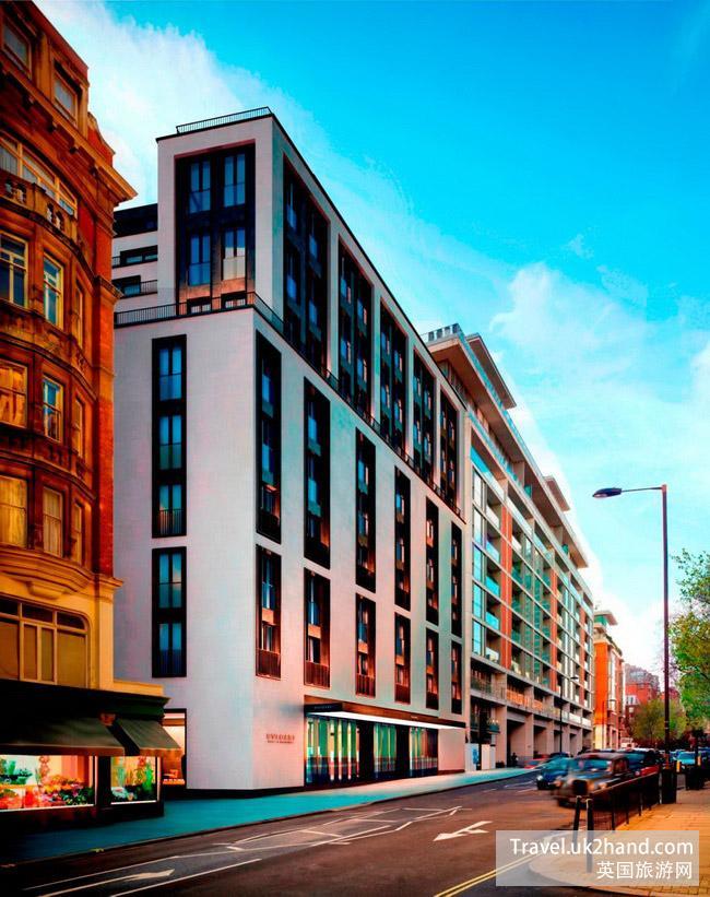 宝格丽伦敦酒店于2012年5月正式开幕,位于伦敦市中心最负盛名的骑士桥(Knightbridge)区