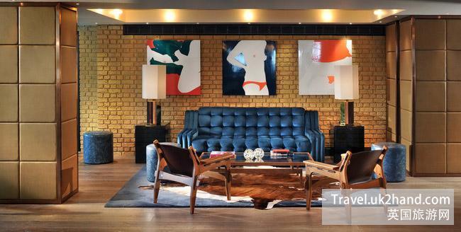 "Belgraves-A Thompson在今年2月1日重新装修开业,由著名的英国设计师Tara Bernerd设计,采用""新不列颠主义""混搭风格"