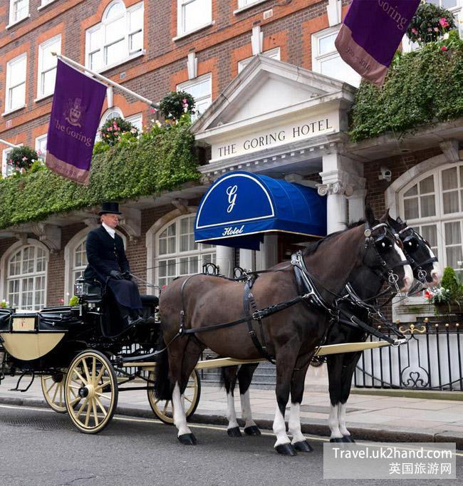 The Goring历来都是英国王室的御用酒店