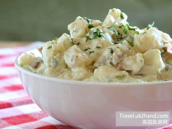 土豆沙拉 - 英国人民靠土豆度过了二战艰难的日子