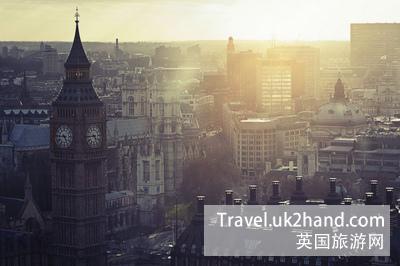 伦敦的清晨