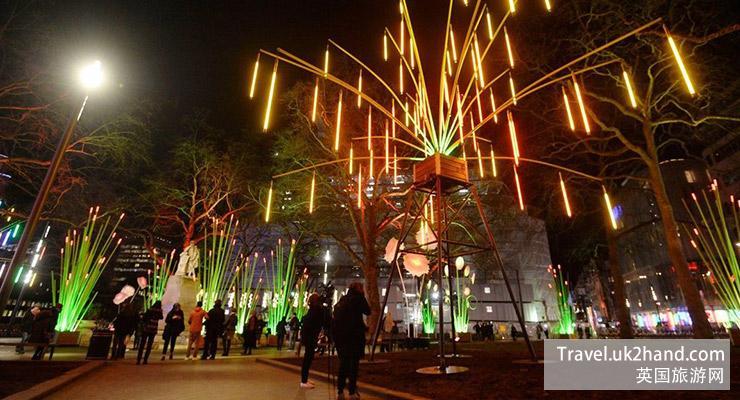 伦敦灯光节