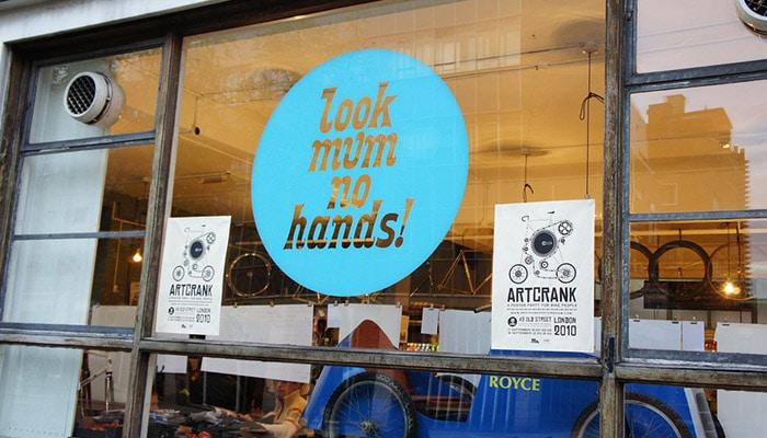 英国单车独立咖啡馆Look Mum no Hands!