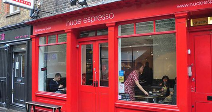 nude espresso London
