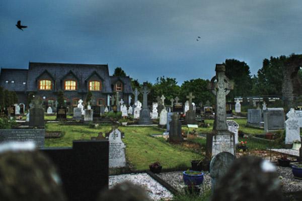 都柏林墓园的清晨